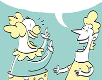 learn and laught - Ilustrações