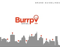 Burrp Brand Guidelines - The First Draft