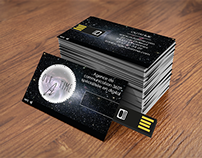 Business card - Outatime agency