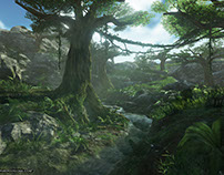 Procedural Nature Environment (Unreal 4)
