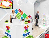 """Exhibition stand for company """"Group PSN"""""""