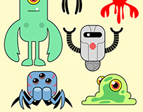 Ai on iPad: Monsters