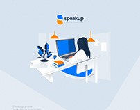 Speakup English Coaching design