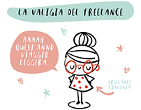Freelance on holiday