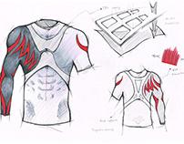 LP SUPPORT-Compression Garment Sketch/Product Design