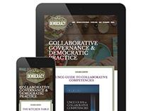 Kitchen Table Democracy Website Design