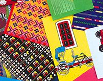 Indian matchbox label art