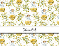 Olive Branches Pattern Design Collection