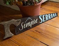 SEMPRE SERRANA • HANDPAINTED HANDSAW