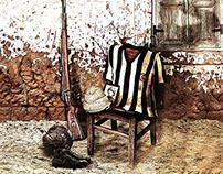 Gallipoli War & Soccer players
