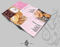 Trifold brochure for au delice in dreampark