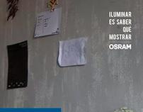 OSRAM // Iluminar es saber qué mostrar