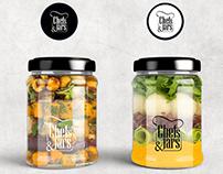 Chefs&Jars Branding Design