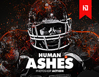 Human Ashes 2 Photoshop Action