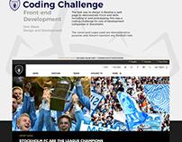 Stockholm FC | Front-end Coding Challenge