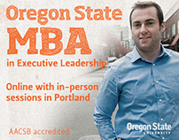 Oregon State University LinkedIn advertising