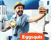 Eggsquis / Voyage en Grèce / Casserole Méditerranéenne