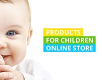 Kids online store.