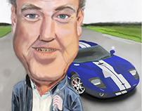 Clarkson Caricature