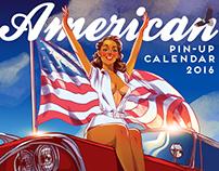 American Pin-Up 2016 Calendar