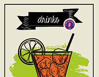 Cardápio de drinks - Bar do Luiz Fernandes