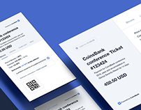 CoinsBank Dashboard UI/UX
