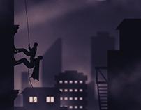 Batman Fan Art Poster