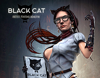 """BLACK CAT"" Design - Making of"