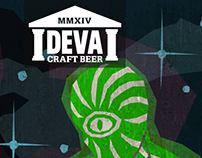 Deva Craft Beer Pump-Clips