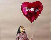 Thank You, OIL&Acrylic paint