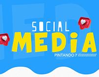 Social Media Pintando 7