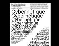 Cybernétique Poster