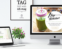 Grüne Smoothies Kickstart A/B-Test