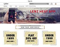 shopping webpage