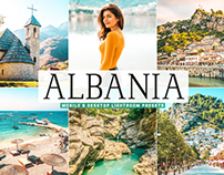 Free Albania Mobile & Desktop Lightroom Presets