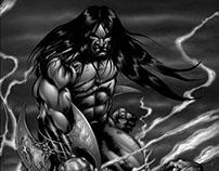Vesil Issue 2 - Comic Book Lettering