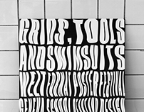 Poster - Grids, Tools and Swimsuits - Nº 1 (Weltformat)
