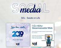 Social Media - SOL Saúde on Life