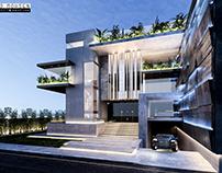 Villa Exterior Visualisation