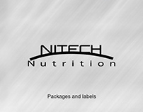 Nitech Nutrition's Packages and labels