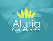 Visual ID - Aluria Comunicação