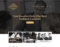 Website Design for a Law Firm in USA with WIX
