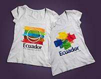 Playeras con motivos indigenistas ecuatorianos