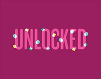 Unlocked Podcast Art Direction & Identity