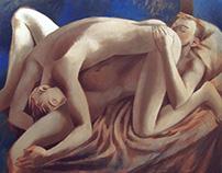 Lovers, 100x80 acrylic