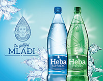 Heba Mineral Water Redesign