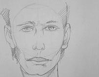 Bocetos de rostro