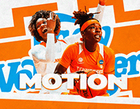 Tennessee Lady Vols Women's Basketball Motion 2020 (IP)