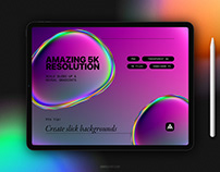Iridescent Blob Shapes Collection By:Samolevsky