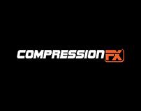 Logo design for Compression FX - Sports Equipment